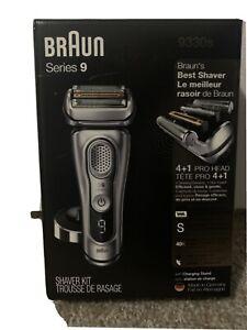 Braun Electric Razor for Men, Series 9 9330s Electric Shaver, Pop-Up Precision