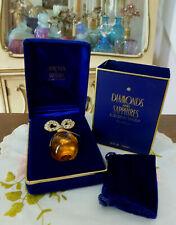 VTG 1990s NIB Liz Taylor DIAMONDS & SAPPHIRES Real Perfume Parfum 0.25 1/4 Oz