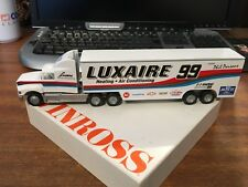 Winross 1/64 Scale Racing Transporter Luxaire - Phil Parsons - Boxed