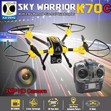 K70C Sky 2,4 G 4-KANAL 6 Achse 3D Rollen 2MP 720P Antenne Kamera RC Quadcopter