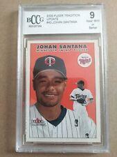 2000 Fleer Tradition Update #43 Johan Santana Minnesota Twins BCCG 9