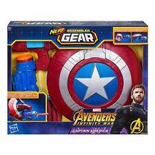 Avengers Marvel Infinity War Nerf Captain America Assembler Gear