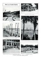 Kolonie Deutsch-Ostafrika XL Seite 1908 6 Abb von Rechenberg Daressalam Tansania