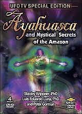 Ayahuasca & Mystical Secrets of the Amazon DVD NEW Box Set of 4 DVD's