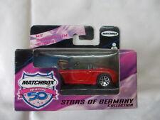 Matchbox 50j Col - Stars of Germany - Porsche Boxer - rot