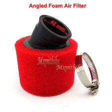 Red 42mm Foam Air Filter For 125 150 200cc ATV Quad Sunl Coolster Pit Dirt Bike