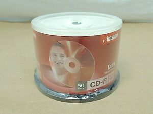 IMATION CD-R DISCS, NEW CONTAINER OF 50