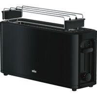 Braun Domestic Home HT 3110 BK PurEase Schwarz Langschlitz-Toaster 1.000 Watt