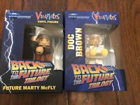 Vinimates Back to the Future II Movie Doc Brown and Marty Mcfly Vinyl Figures