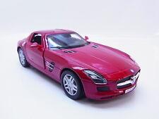 LOT 28694 | Kinsmart Mercedes Benz SLS AMG Modellauto rot m. Antrieb 1:36 Neu