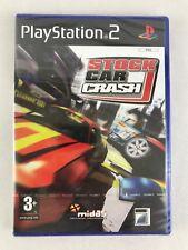 PS2 Stock Car Crash, UK Pal, Brand New & Factory Sealed