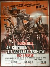 Affiche ON CONTINUE A L'APPELER TRINITA Bud Spencer TERENCE HILL 120x160cm