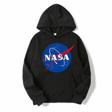 NASA Hoodie Pullover Hoodies Men&Women Hood Unisex Sweatshirts Youth kids Adults