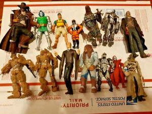 Vintage and modern mixed Action figure lot