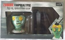 New Noki Zombie Eggpocalypse Breakfast Egg Cup Spoon Weapon Toast Cutter