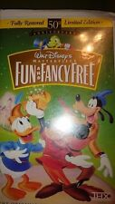 Fun and Fancy Free (VHS, 1997)