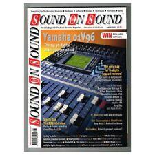Sound on Sound Magazine August 2003 MBox1185 Yamaha 01V96 - Steely Dan