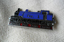A nice blue NUMBER ONE TANK ENGINE No. 1 pin lapel badge , free u.k. p&p