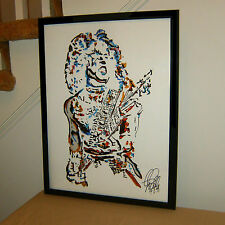Paul Stanley, Kiss, Singer, Vocals, Guitar Player, Rock Guitarist,  POSTER w/COA