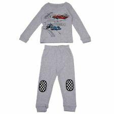 Fashion Racing Car Baby Boys Kids Homewear Sleepwear Pajamas Set 7t T5k9