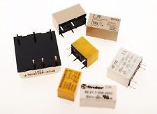 Relais Matsushita TQ2-12V 12V 2 Wechsler 2FormC DPDT 125VAC//0,5A 30VDC//!A Relay