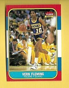 VERN FLEMING 1986-87 FLEER  #33  PACERS