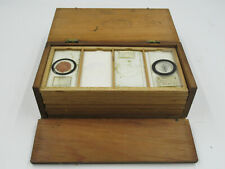More details for antique victorian microscope slide specimen collection, botanical, plants (c1189