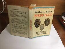 Observers Book Of Birds Eggs 1956;