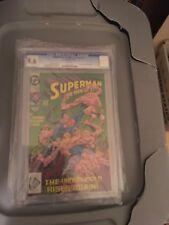 Superman man of steel 17 Cgc 9.6