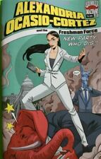 ALEXANDRIA OCASIO CORTEZ & FRESHMAN FORCE WHO DIS ONE SHOT COMIC BOOK NEW 1 AOC