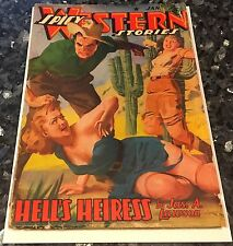 Spicy Western Stories Lot, H.J. Ward SAGUARO CACTUS Cover 1941 Issues