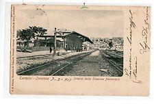 C001960  PALERMO  TERMINI  IMERESE  STAZIONE  FERROVIARIA  ANIMATISSIMA  VG 1917