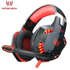 3.5mm Gaming Headset MIC LED Headphones for PC Laptop PS4 Slim Pro Xbox One NS