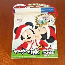 New Mickey & Friends Invisible Imagine Ink Marker & Book ~ Minnie Goofy Pluto