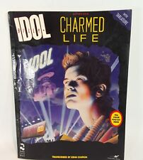 BILLY IDOL Charmed Life Guitar Tablature Tab Song Music Book with poster
