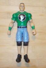 "John Cena 2013 WWE poseable action 6 3/4"" figure Mattel green ok shirt"