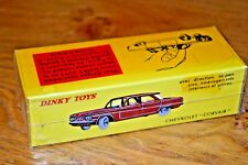 French Dinky Toys Atlas Edition Diecast Chevrolet Corvair No 552