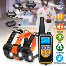 1000m Rechargeable Electric Shock E-Collar Remote Control Dog Training