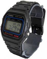 CASIO W59 Armbanduhr Classic Armband Quarz digi Retro Uhr Dornschließe schwarz