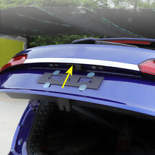 For 2018+ Audi Q5 (FY) Steel Trunk Tail Gate Trims Strips Decoration Accessories