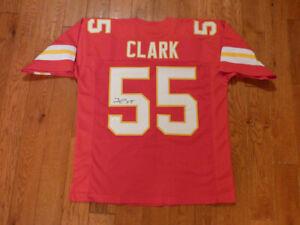 Frank Clark Signed Chiefs Custom Jersey Size XL JSA