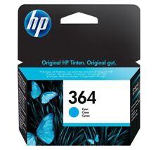 Cartouche Original HP 364 HP364 CB318EE Encre Cyan Origine 09/2016 Genuine Ink