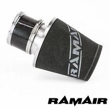 Ramair SILVER MEDIUM con base in alluminio filtro dell' aria con ID 100mm Silicone Manicotto