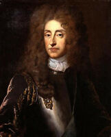 Dream-art Realism oil painting male portrait King James II hand paint on canvas