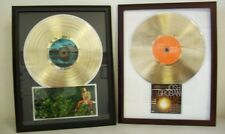 Blank Gold LP Album Record Award Custom CD/ DVD Display DIY Customized Display