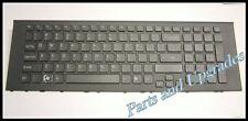 OEM SONY VAIO PCG-71411L PCG-71511L US Black Keyboard With Frame NEW 148933411