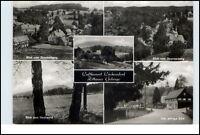 DDR Mehrbild-AK Postkarte Region Oybin Sachsen Zittau Zittauer Gebirge s/w Foto
