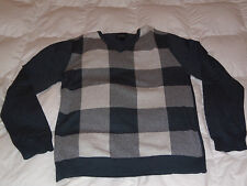 Authentic Buffalo David Bitton Sage V Neck Plaid Check Sweater Mens Size XL