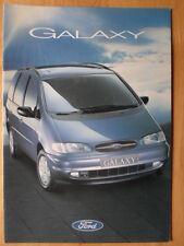 FORD Galaxy range 1995 orig UK Market glossy brochure