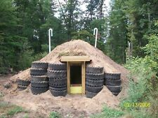 STORM SHELTER WINTER FOOD STORAGE -- HOW I BUILT MINE --ABOVE GROUND INEXPENSIVE